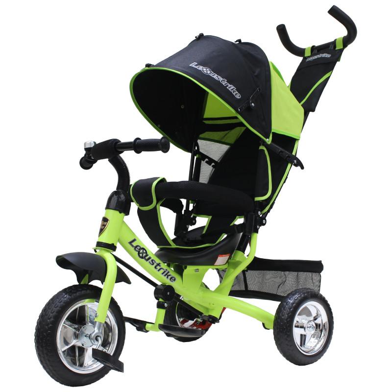 """Трехколесный велосипед Lexus trike EVA 10 и 8"""", зелёный"""