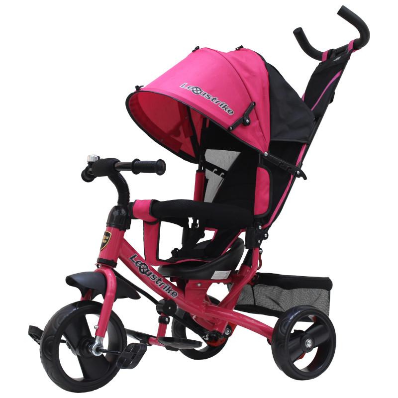 """Трехколесный велосипед Lexus trike EVA 10 и 8"""", розовый"""
