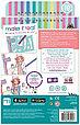 Make It Real Скэтчбук Блокнот с трафаретами для создания Модных дизайнов: Милая кошечка, фото 2