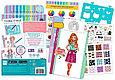 Make It Real Скэтчбук Блокнот с трафаретами для создания Модных дизайнов: Милая кошечка, фото 5