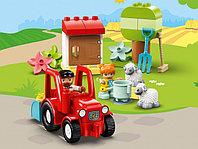 LEGO DUPLO 10950 Фермерский трактор и животные, конструктор ЛЕГО