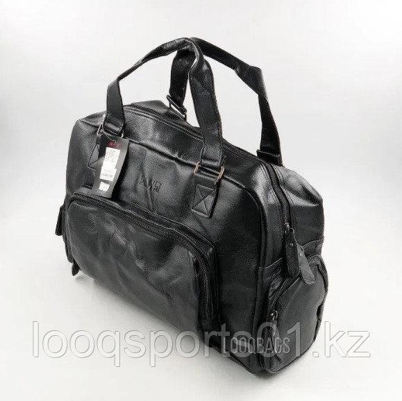 Кожаные дорожные спортивные сумки Sansi R-3 (8216)