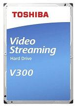 TOSHIBA HDWU110UZSVA Жесткий диск HDD 1Tb Video Streaming V300 SATA3 5700rpm 64Mb 24/7