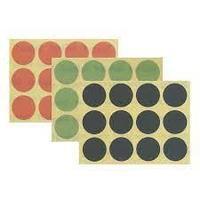 Шлифовальные клейкие круги Tolecut 34 мм К2000 зеленые