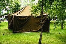 Палатка брезентовый 3*4