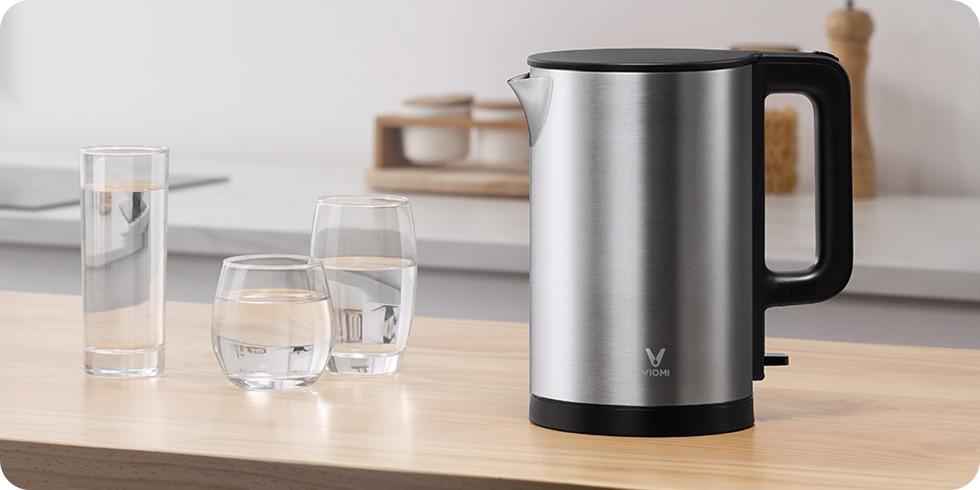 Чайник Viomi Electric Kettle (серебристый) (YM-K1506)
