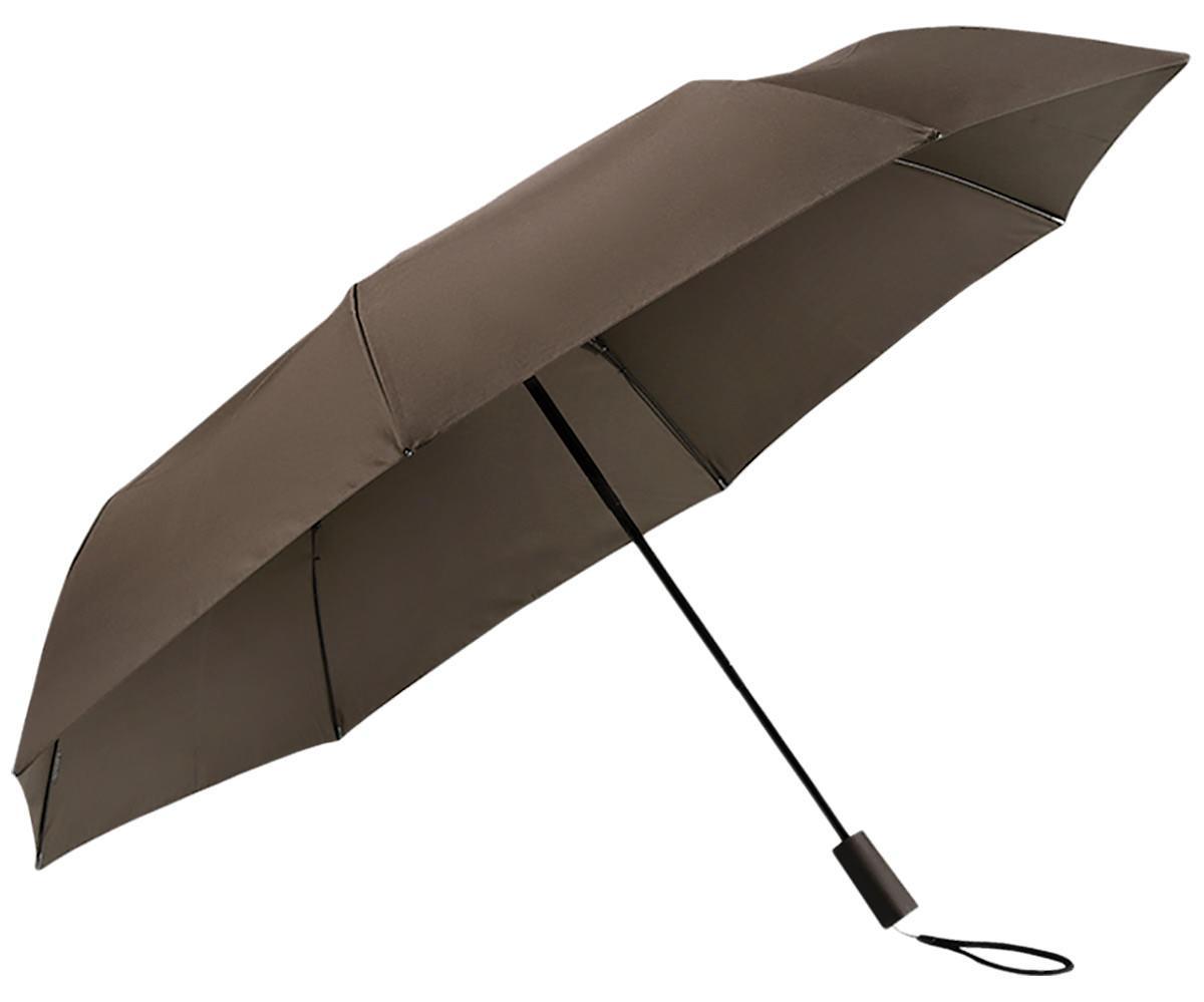 Зонт Xiaomi Tri Folded Two or Three Sunny Umbrella (цвет кофейный)