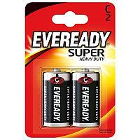 Элемент питания R14-C Eveready SHD 2 штуки в блистере.