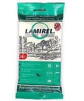 Антибактериальные универсальные чистящие салфетки Lamirel для поверхностей, 24 шт, еврослот, мягкая