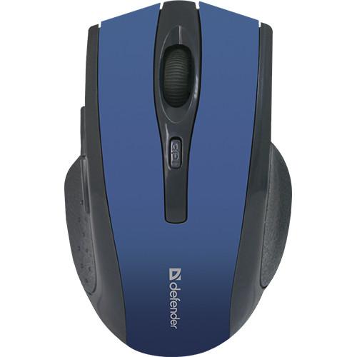 Мышь беспроводная Defender Accura Accura MM-665 синий,6 кнопок, 800-1600 dpi