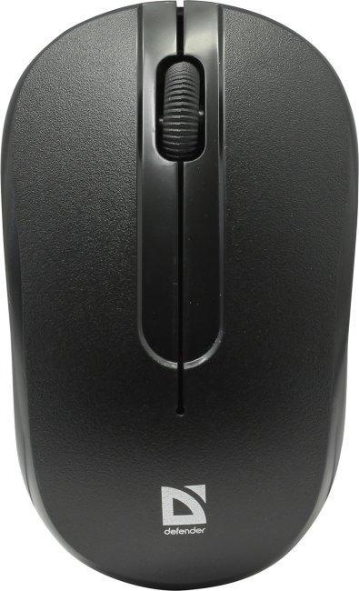 Мышь беспроводная Defender Datum MM-285, черный