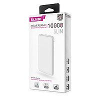 Зарядное устройство Power bank Olmio Slim 10000 mAh белый