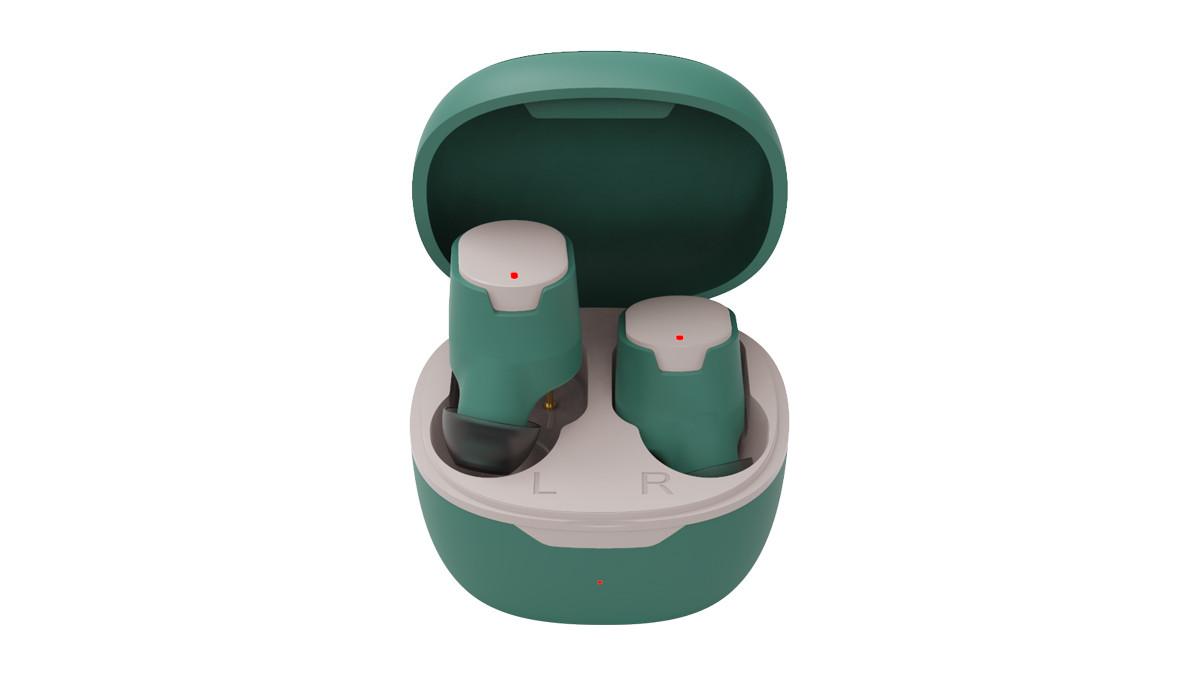 Наушники-вкладыши беспроводные Ritmix RH-835BTH TWS зеленый