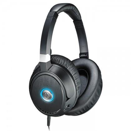 Наушники-накладные проводные Audio-technica ATH-ANC70 черный