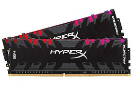 Память оперативная DDR4 Desktop HyperX Predator HX430C15PB3AK2/16, 16GB, RGB, KIT