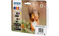Картридж Epson C13T379D4020 478XL Mpack Ink(Bk.C.M.Y.R.GY) RF/AM Tag набор 6 шт.