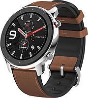 Смарт часы Xiaomi Amazfit GTR 47mm Steel коричневый