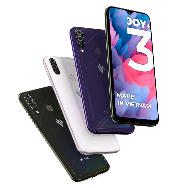Смартфон Vsmart Joy 3+ 4/64GB черный оникс