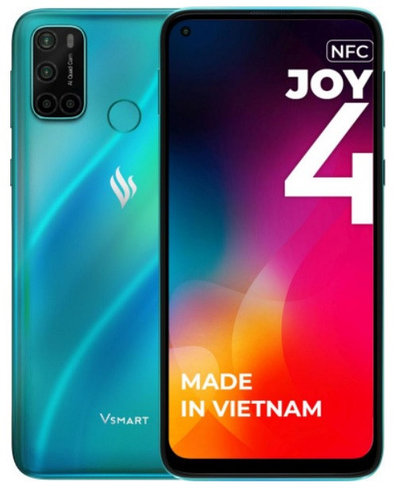 Смартфон Vsmart Joy 4 3/64GB бирюзовый