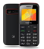 Мобильный телефон Texet TM-B323 черный-красный