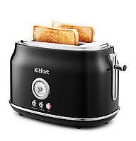 Тостер Kitfort КТ-2038-1 чёрный