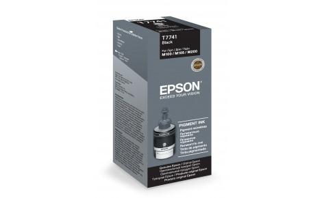 Чернила Epson C13T77414A M100/M105/M200 черный