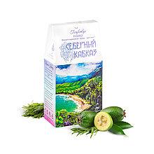 Классический чай Северный Кавказ с чёрным орехом и травами