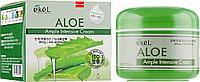 Крем 70мл ампульный увлажняющий лифтинговый с экстрактом алоэ Ekel Ample Intensive Cream Aloe