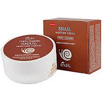 Крем 100мл увлажняющий с муцином улитки Ekel Snail Moisture Cream