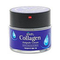 Крем 70мл увлажняющий ампульный с коллагеном Ekel Collagen Ampule Cream