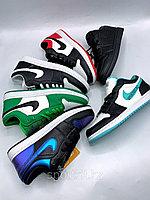 Кеды Nike Jordan низк бело зелёные, фото 1