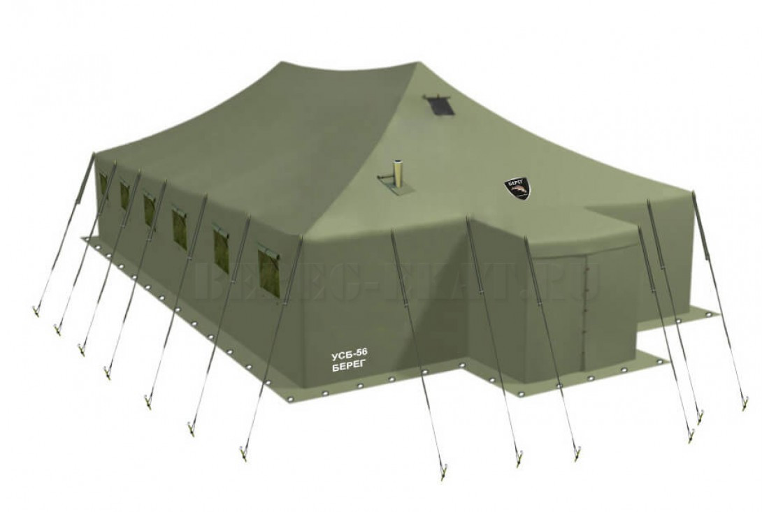 Армейский палатка 3*10 брезентовый