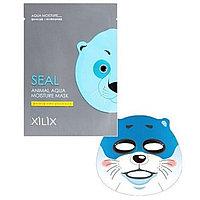 Тканевая маска увлажняющая Dermal Xilix Seal Animal Aqua Moisture Mask