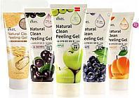 Пилинг-гель 180мл скатка для лица Ekel Natural Clean Peeling Gel