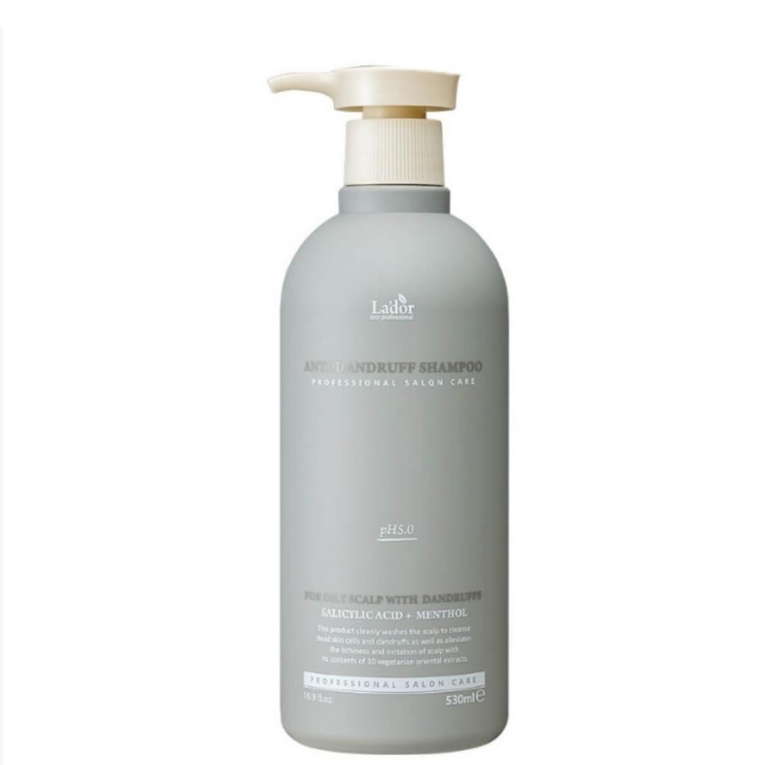 Слабокислотный шампунь против перхоти Lador Anti Dandruff Shampoo 530 ml