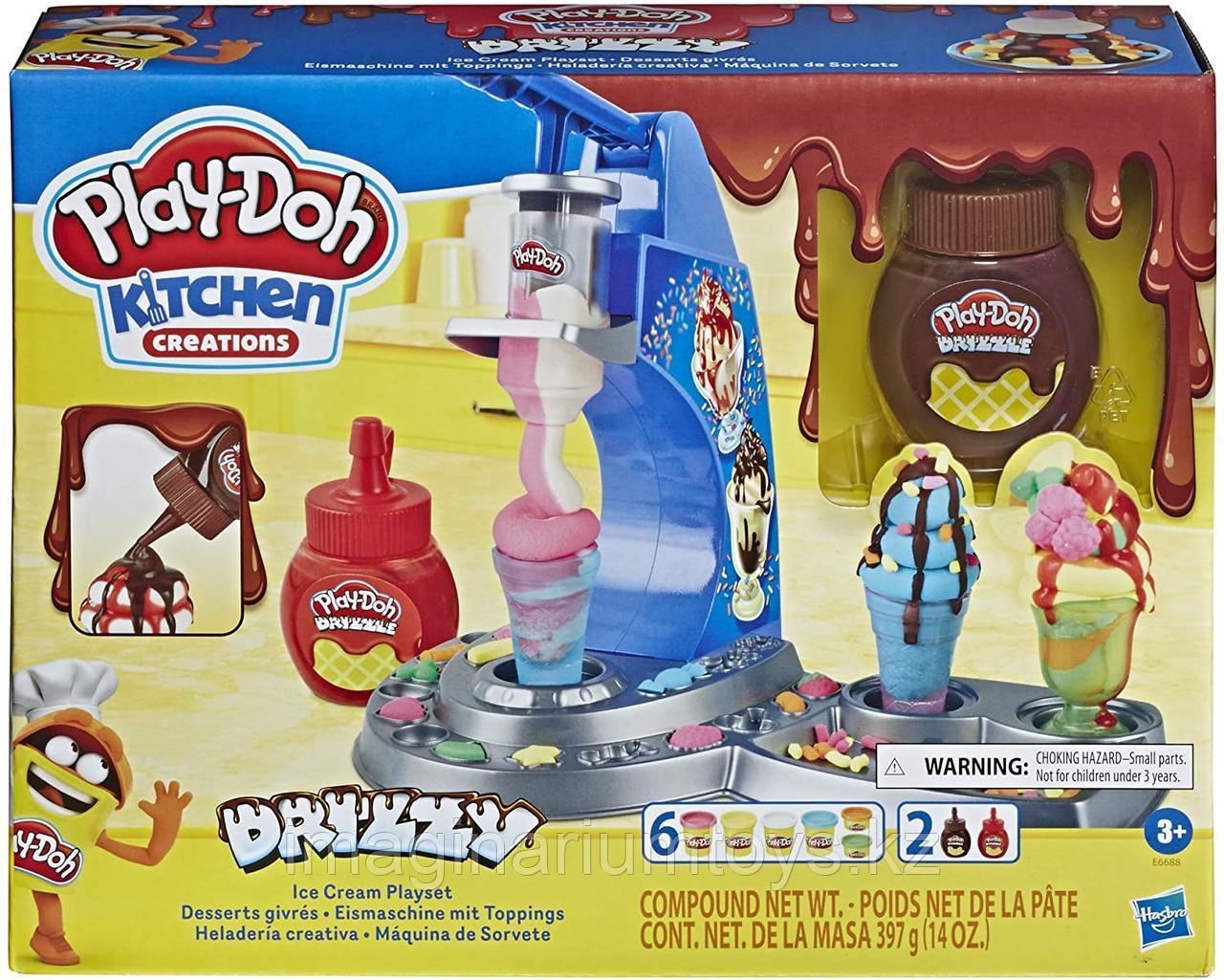 Play-Doh Плейдо игровой набор пластилина «Фабрика мороженого и сладостей»