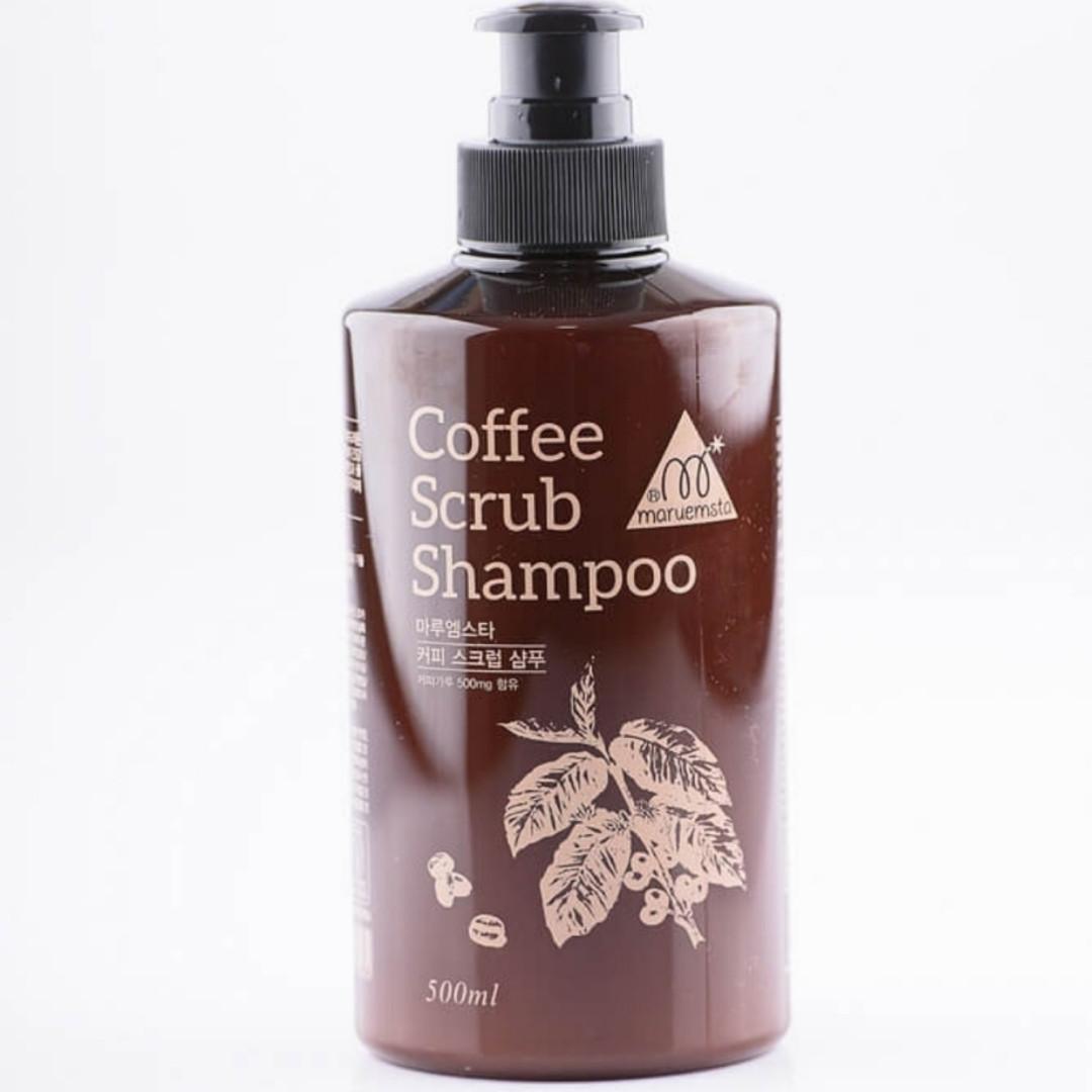 Шампунь-скраб для волос с экстрактом кофе MARUEMSTA Coffee Scrub Shampoo