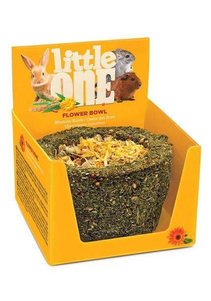 Лакомство для грызунов Little One Лукошко цветочное