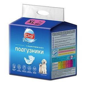 Подгузники для животных Cliny, размер XL (15-30 кг)