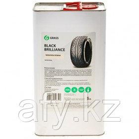 """Чернитель шин силикон """"Black Brilliance"""" 5 л ж/б Grass"""