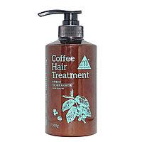 Увлажняющая маска для поврежденных волос с экстрактом кофе MARUEMSTA Coffee Hair Treatment 500 ml