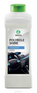 Полироль глянцевый для кожи, резины и пластика Polirol Shine (1 л) Grass