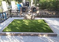 Семейный гранитный памятник на двоих ( Куртинский гранит)