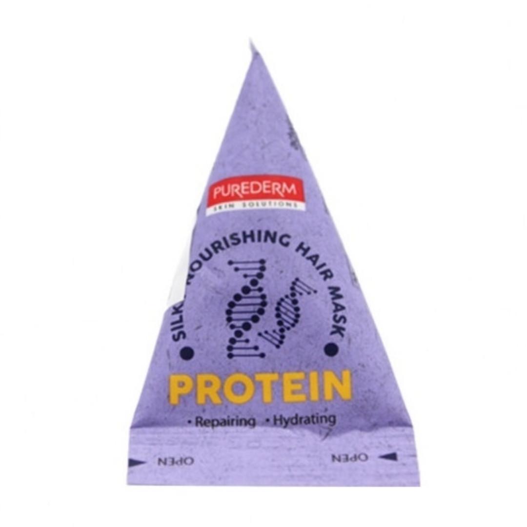 Питающая восстанавливающая маска-пирамидка для волос «Протеин» Silky Nourishing Hair Mask «Protein» (20 гр)