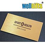 Визитки на металлизированной бумаге, фото 2