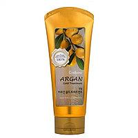 Маска для для повреждённых волос, окрашенных и сухих волос  Welcos Confume Argan Gold Treatment 200 ml