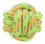Trixie 35696 Веревочный мяч, ø 9 см Игрушка для собак