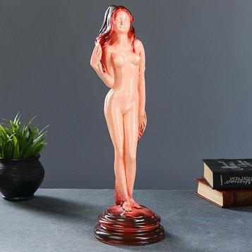 """Фигура """"Девушка на подставке"""" 13 × 13 × 43 см"""