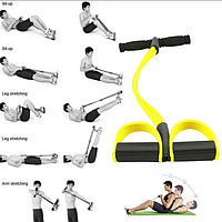 Тренажер для фитнеса с эспандерами «Фитнес-тренер»