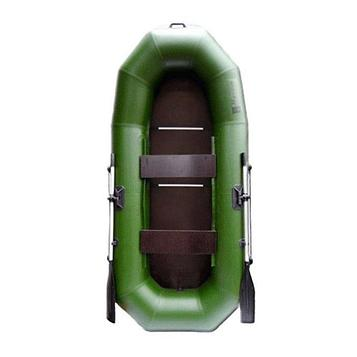 Лодка «Муссон» Н 270 С слань, цвет олива